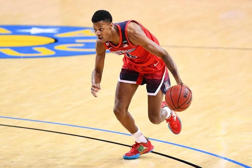 Arizona basketball player Dalen Terry