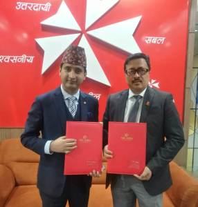 एनआईसी एशिया बैंक र नेपाल क्यान्सर हस्पिटल बिच सम्झौता