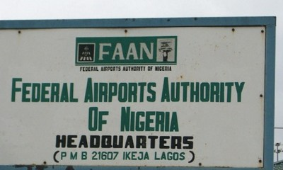 2016 Capital Budget Implementation: Tours FAAN Facilities