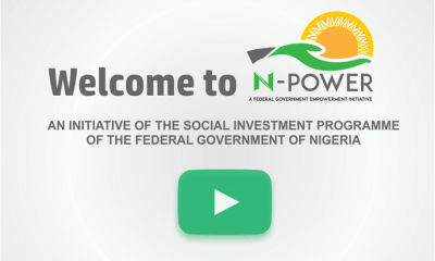 N-Power to Employ Another 300,000 Graduates as Portal Reopens June 13