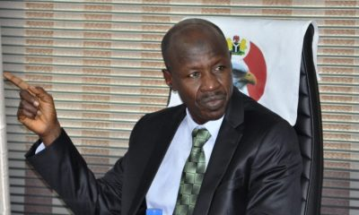 Buhari Removes Magu as EFCC Boss