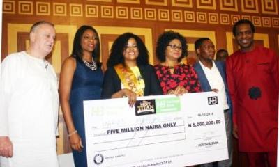 Marshal-Idio Wins Heritage Bank's N5m at The Next Titan Season-3