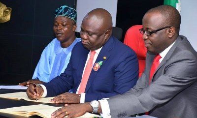 Ambode Sacks 3 Commissioners in Major Cabinet Shake-up