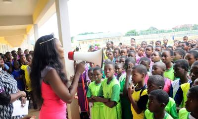 Okowa Hails Beauty Queen over Education Project