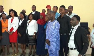CPN Inducts Ayo Babalola Varsity Computer Science Graduates