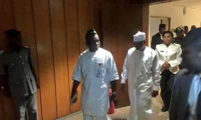 Customs Boss Appears Before Senate in Mufti