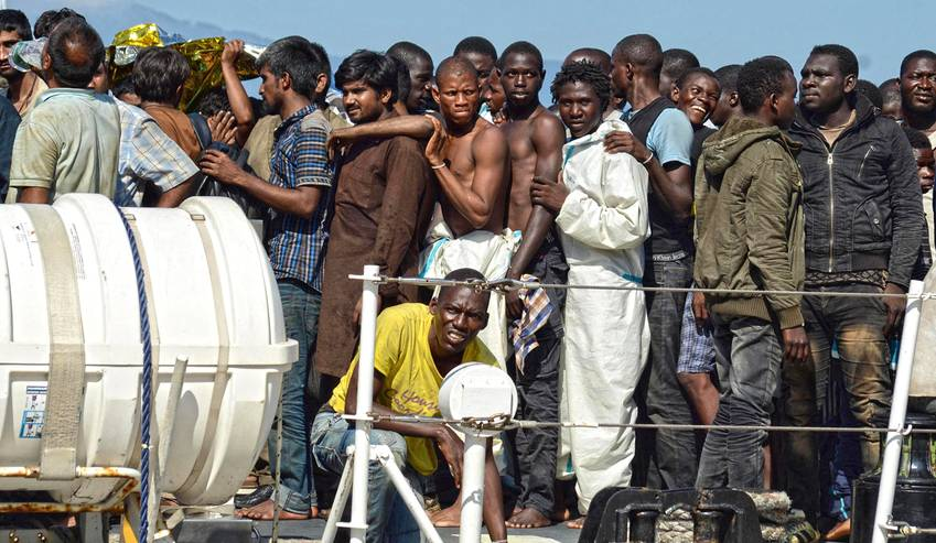 African Migrants - African countries urged to redouble efforts in tackling forced displacement