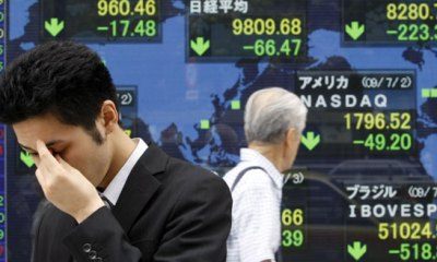 Asian Stock Markets Rise as Commodity Prices Jump