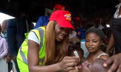 Tiwa Savage Joins Rotary for Polio Eradication
