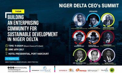 Niger Delta CEO Summit Holds Saturday