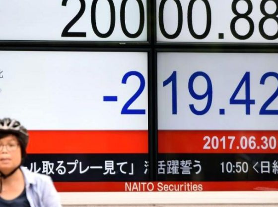 Asian Equities Appreciate as Investors Digest Chinese Trade Data
