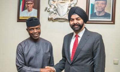 Osinbajo Meets MasterCard President to Discuss ICT Development