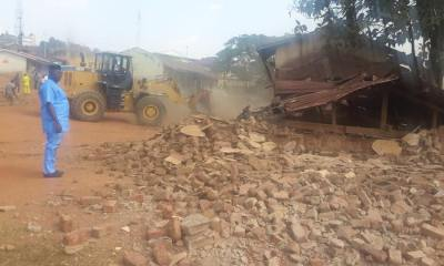 Oyo Pulls Down 200 Dilapidated Classrooms