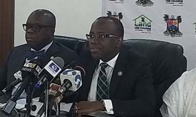 """Lawyers Calls Ambode's 50% Cut in Land Use Charge """"Illegal"""""""