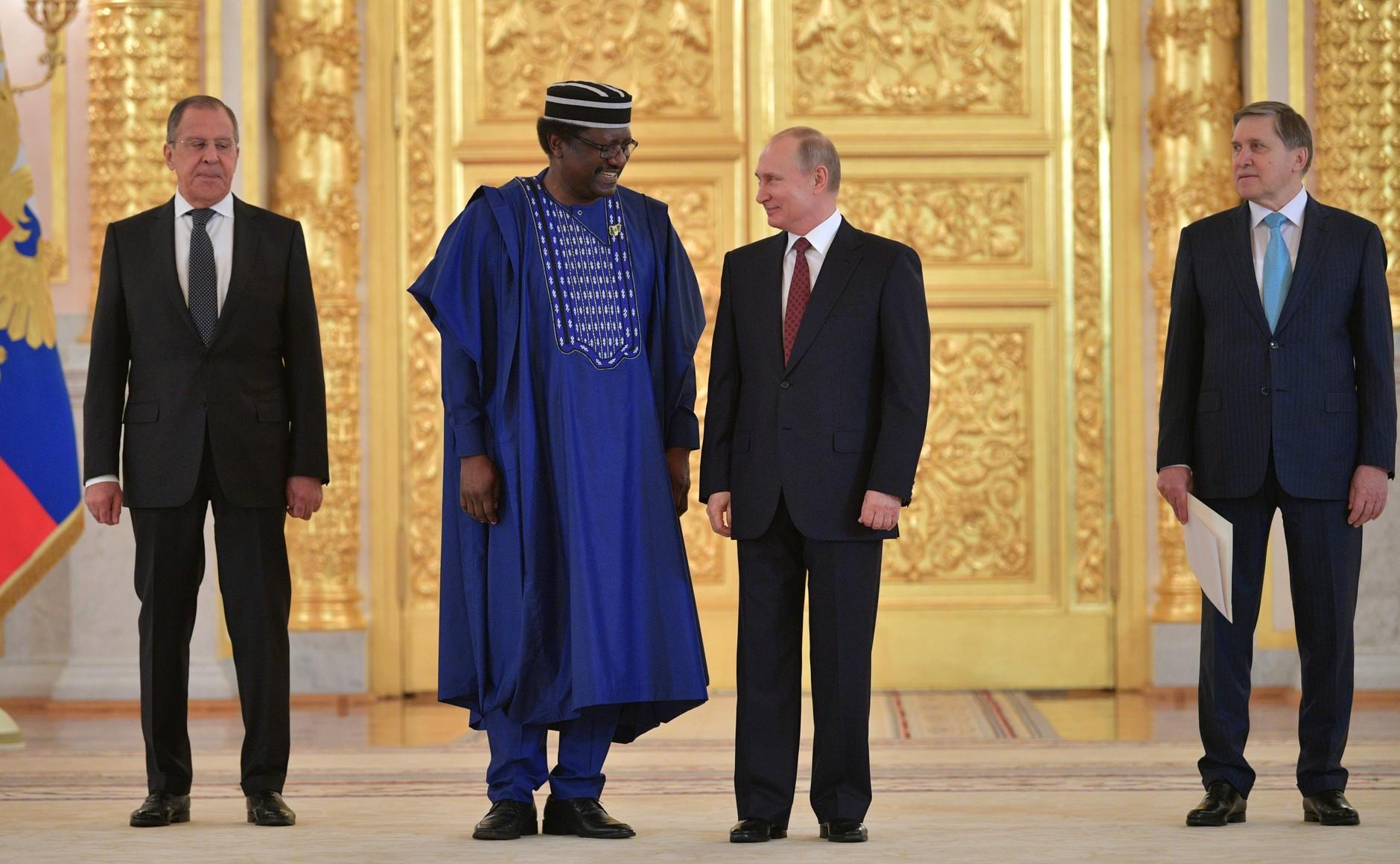 Professor Steve Davies Ugba Vladimir Putin - Sochi 2019: Afreximbank says Russia-Africa trade volume hits N20bn in 3 years