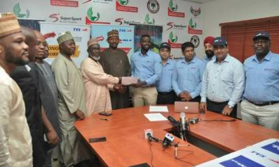 NFF Names TVS Official Motorcycle, Tricycle Partner of Super Eagles