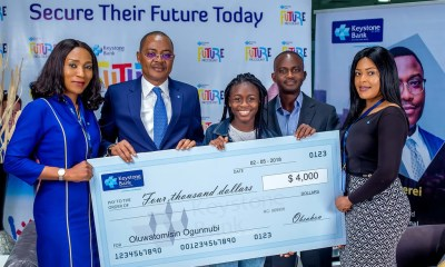 ICT Whiz Kid Gets $4000 from Keystone Bank