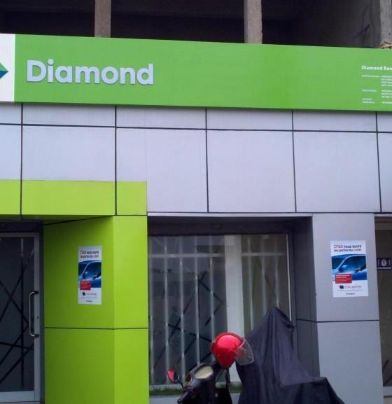 Investors Dump Diamond Bank Shares amid Fears over Company's Future