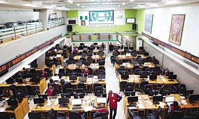 Nigeria's stock index