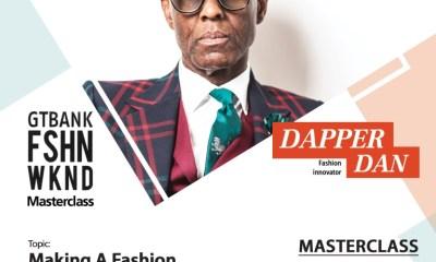 Jay Manuel, Dapper Dan Prepare for GTBank Fashion Weekend Masterclass