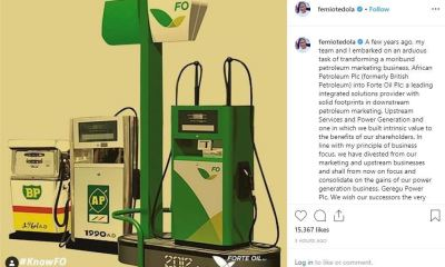 Femi Otedola Completes Sale of Forte Oil, Exits as Chairman