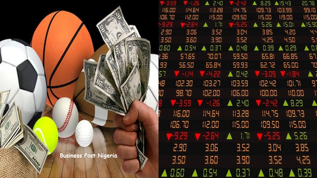 Sports betting vs stock investing horse racing betting terms explained that