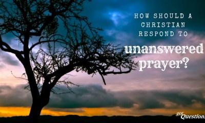 Christian Unanswered Prayers