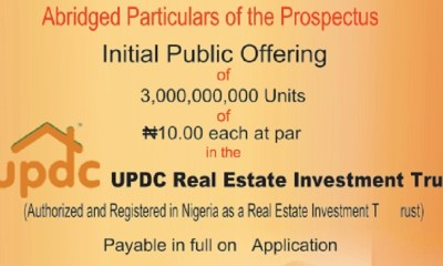UPDC Real Estate Investment Trust