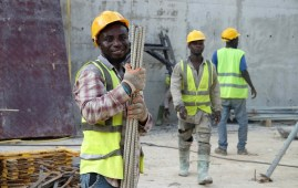 Pullman Accra Airport City construction
