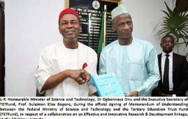 TETFund Ministry of Science and Technology