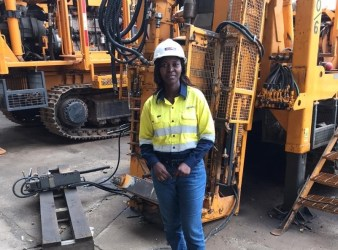 Geodrill women in mining