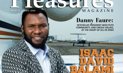 Isaac Balami Covers Pleasures Magazine