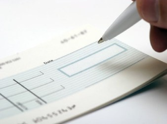 clearing of cheques