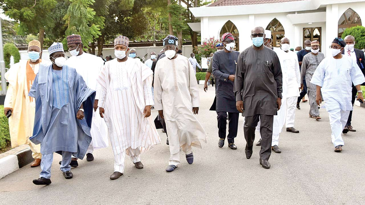 governors meet tinubu