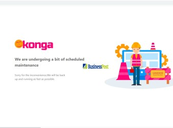 Konga Website Down