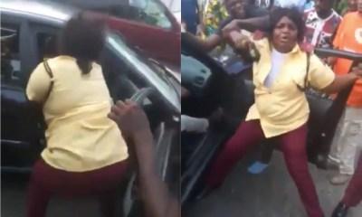 female LASTMA fight Adepeju Odunlami