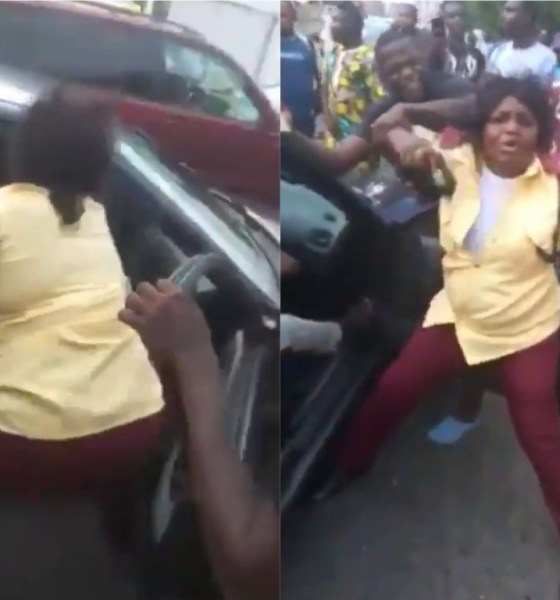 female LASTMA fight Adepeju Odunlami
