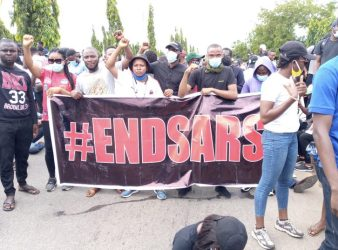 #EndSARS Protesters