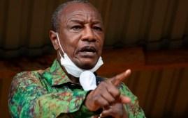 Alpha Conde Guinea President