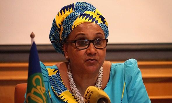 SADC Executive Secretary Stargomena Lawrence Tax