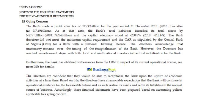 Unity Bank statements 2019_1