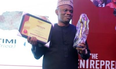 Entrepreneur Africa Award Seye Olurotimi