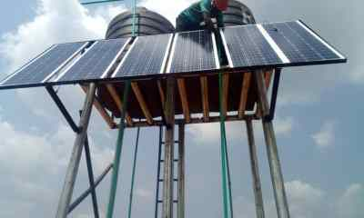 Solar-Powered Borehole