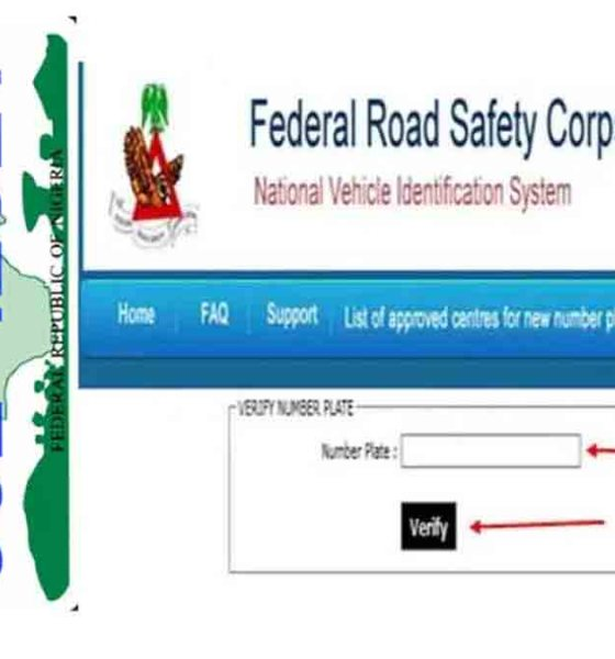 Verify Your Number Plate