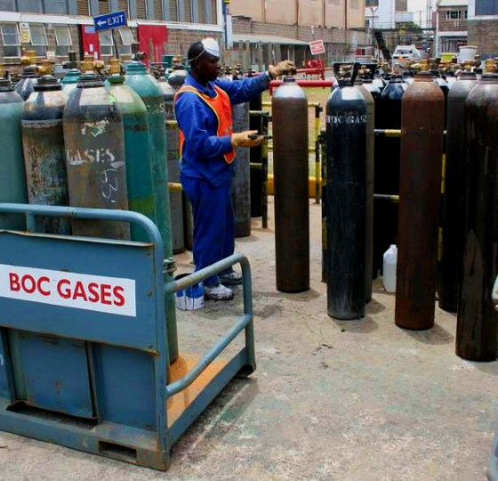 BOC Gases Industrial and Medical Gases Nigeria