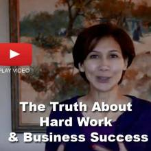 hard work and business success