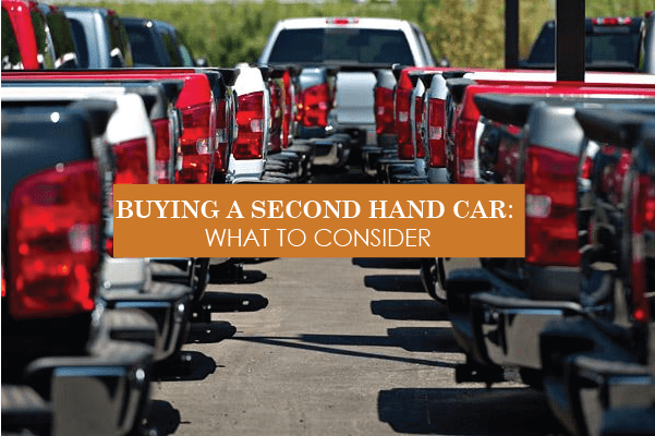 Buying a second hand car