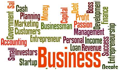 Business related words for your tips