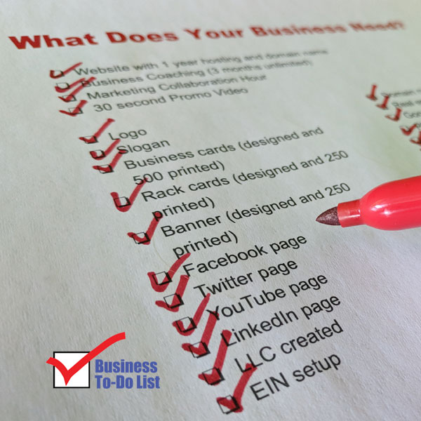 business to do list entire checklist business to do list