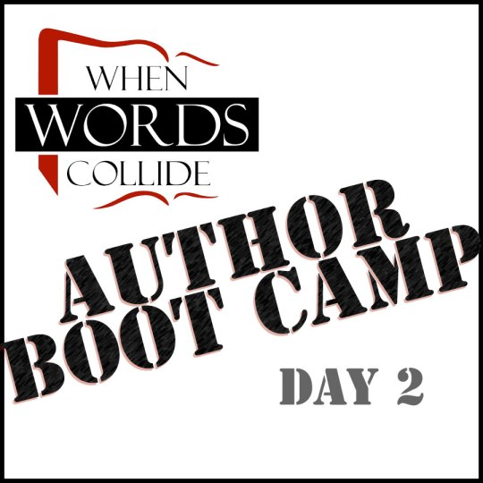 When Words Collide Author Boot Camp